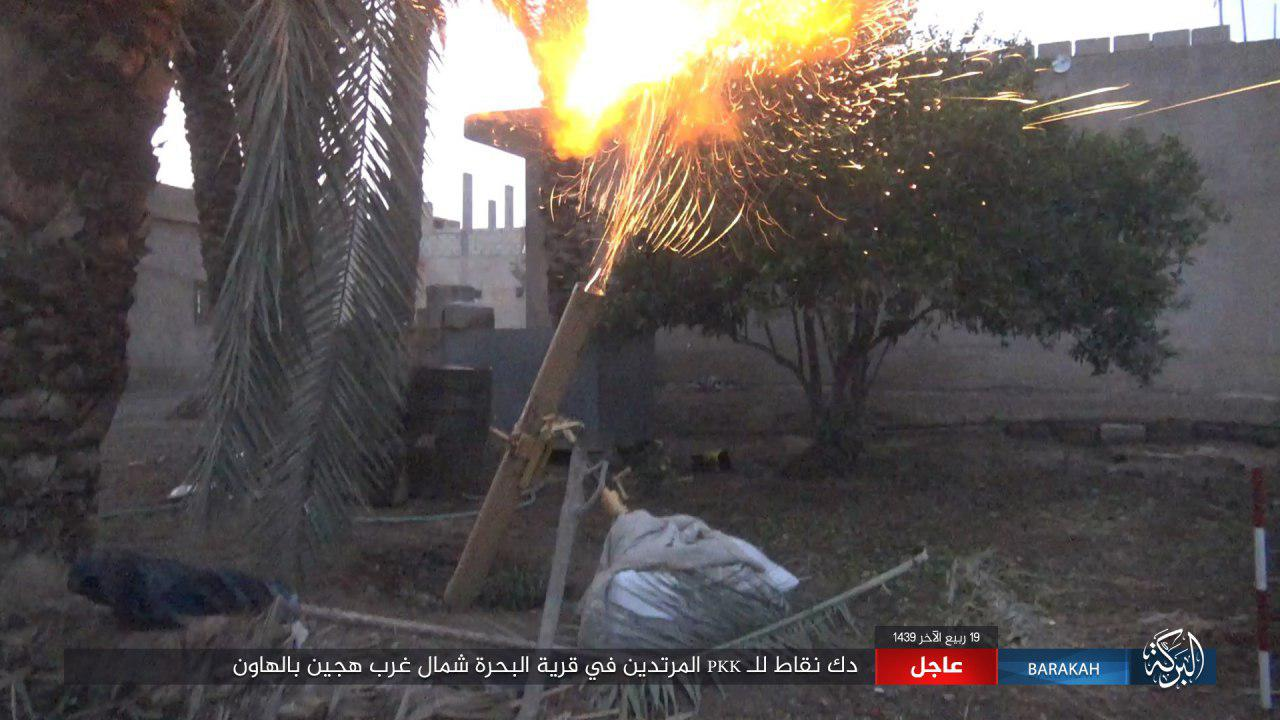ISIS Fighters Conduct Several Attacks Against US-backed Forces North Of Hajin (Photos)