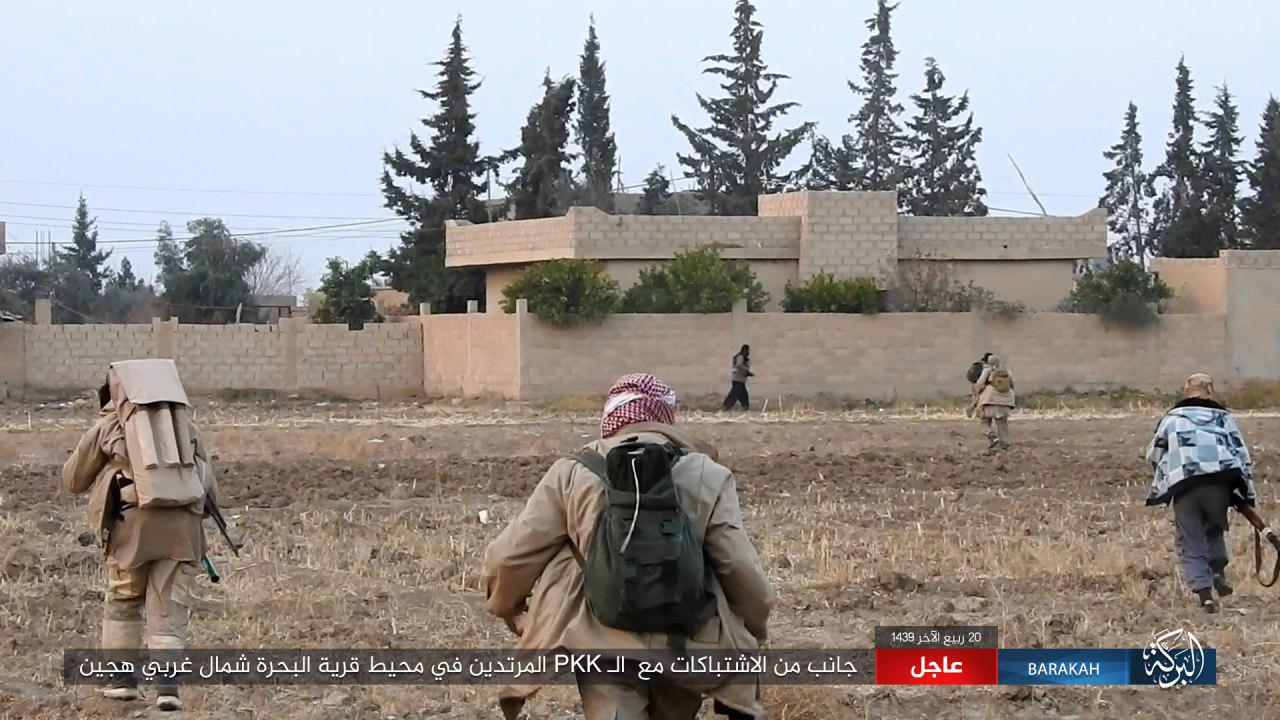 US-backed Forces Launch Attack On Gharanij, Repel ISIS Attack On Al-Bahra (Photos)