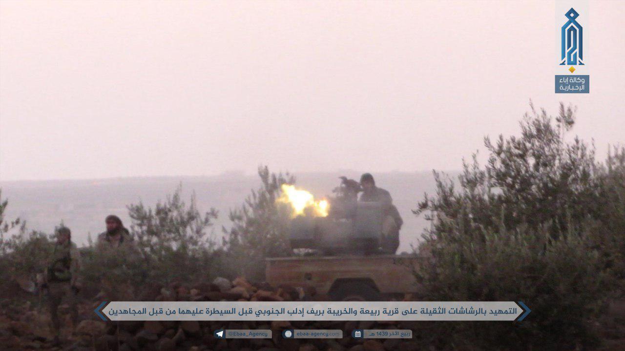 Hay'at Tahrir al-Sham Launches Fierce Attack Against Syrian Army Southwest Of Abu Duhur (Photos, Map)