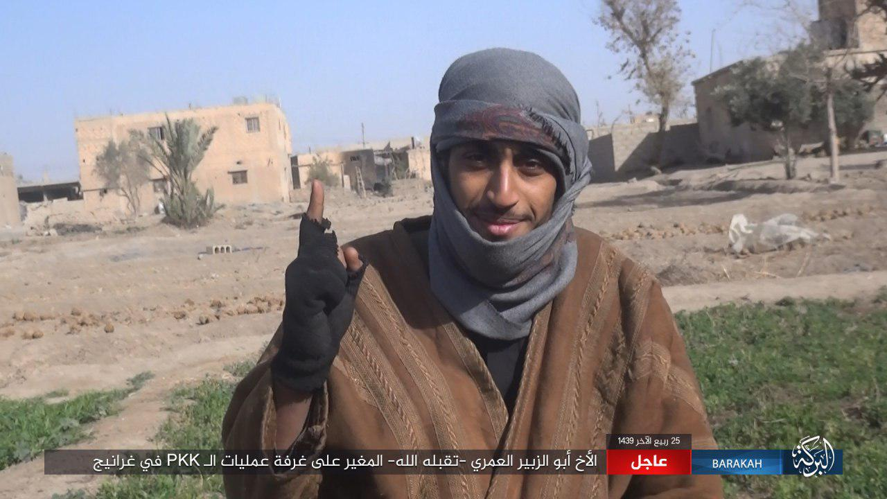 ISIS Claims Killing Dozens Of SDF Fighters In Gharanij Area (Photos, Video)