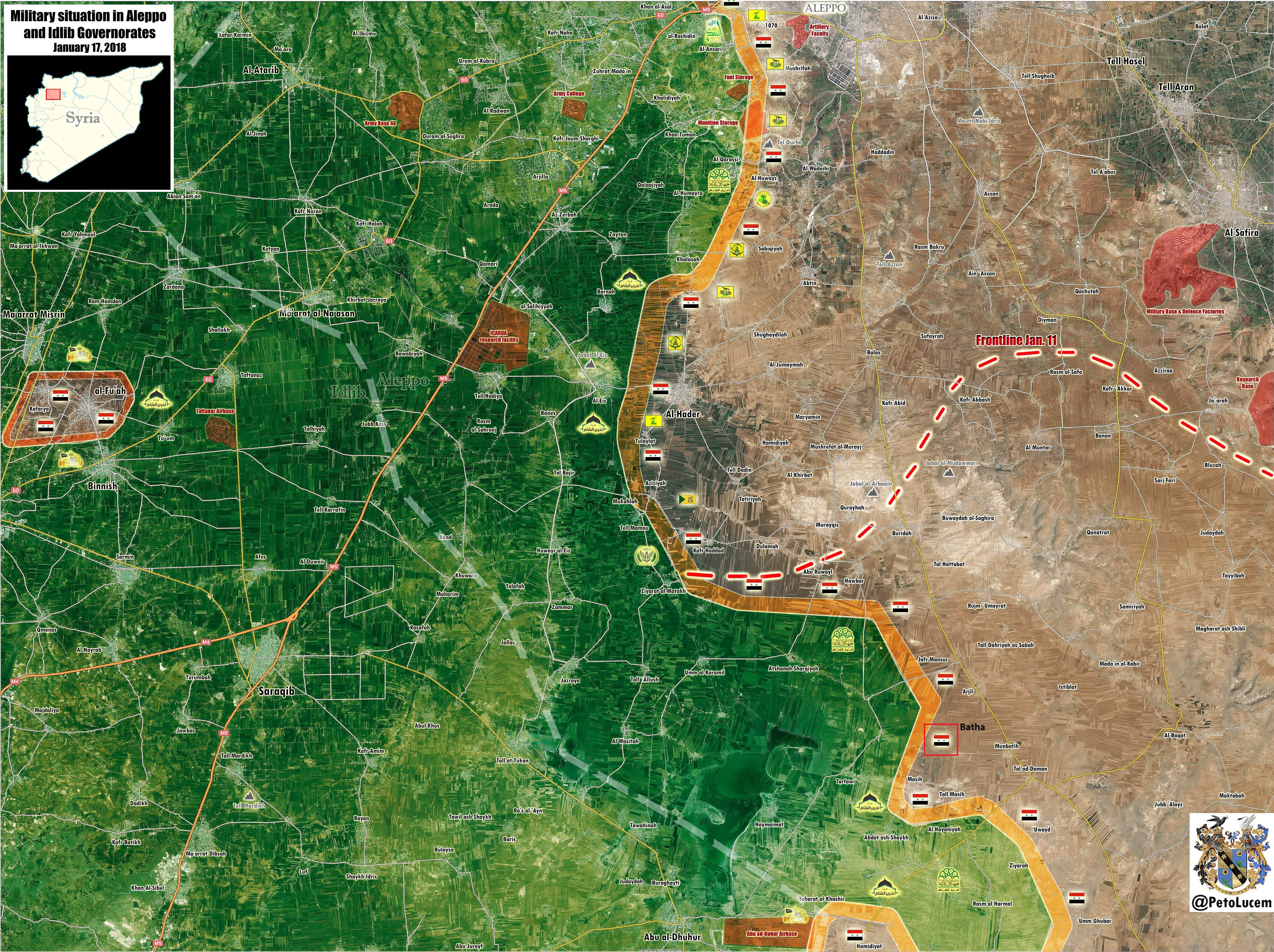 Government Fores Liberate Another Village In Southern Aleppo, Advance On Militants In Eastern Idlib (Map, Video)