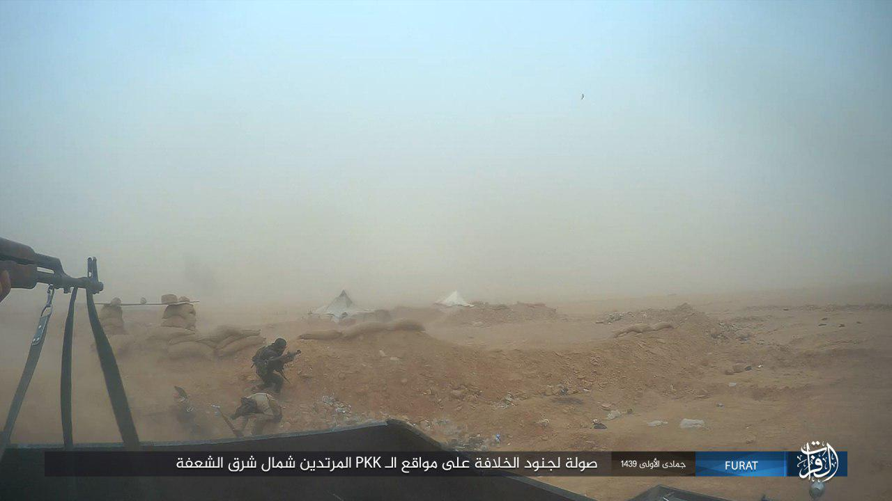 Dozens Of US-backed Fighters Killed In Series Of ISIS Attacks In Southeastern Deir Ezzor (Photos)
