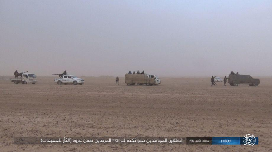 ISIS Claims It Killed 185 Fighters Of Syrian Democratic Forces Over Last Week (Photos)
