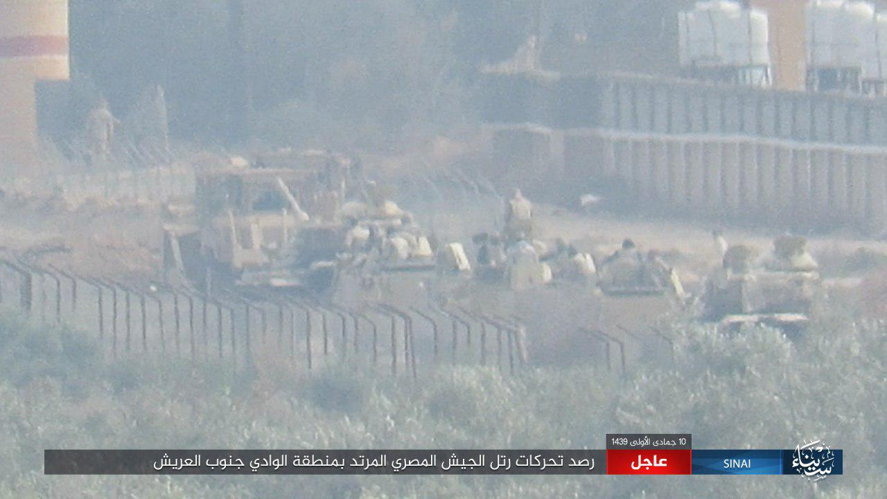 ISIS Attacks Convoy Of Egyptian Army In Sinai Peninsula (Photos)