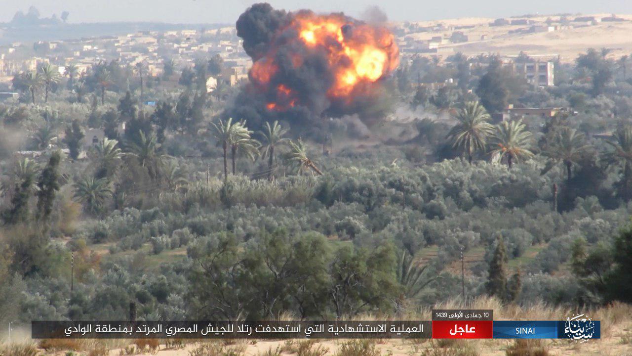 ISIS Attacks Convoy Of Egyptian Army In Sinai Peninsula (Photos)