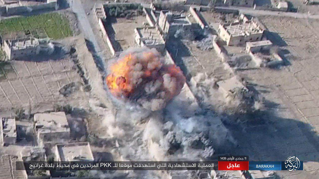 ISIS Attacks US-backed Forces In Gharanij Town In Deir Ezzor Province (Video, Photos)