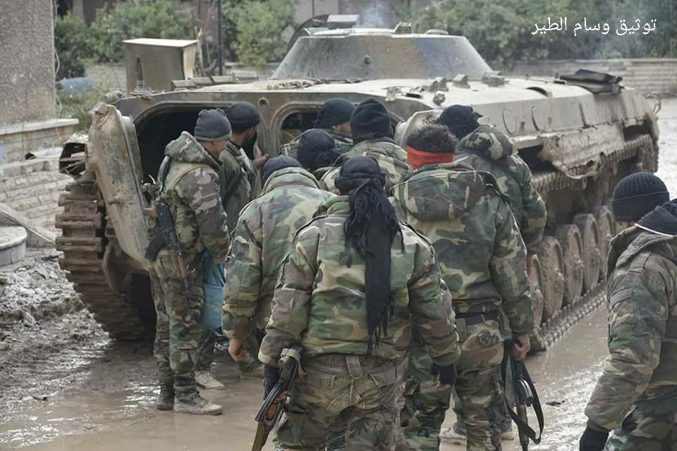 Government Forces Expand Their Operations In Harasta District In Eastern Ghouta (Photos, Videos, Map)