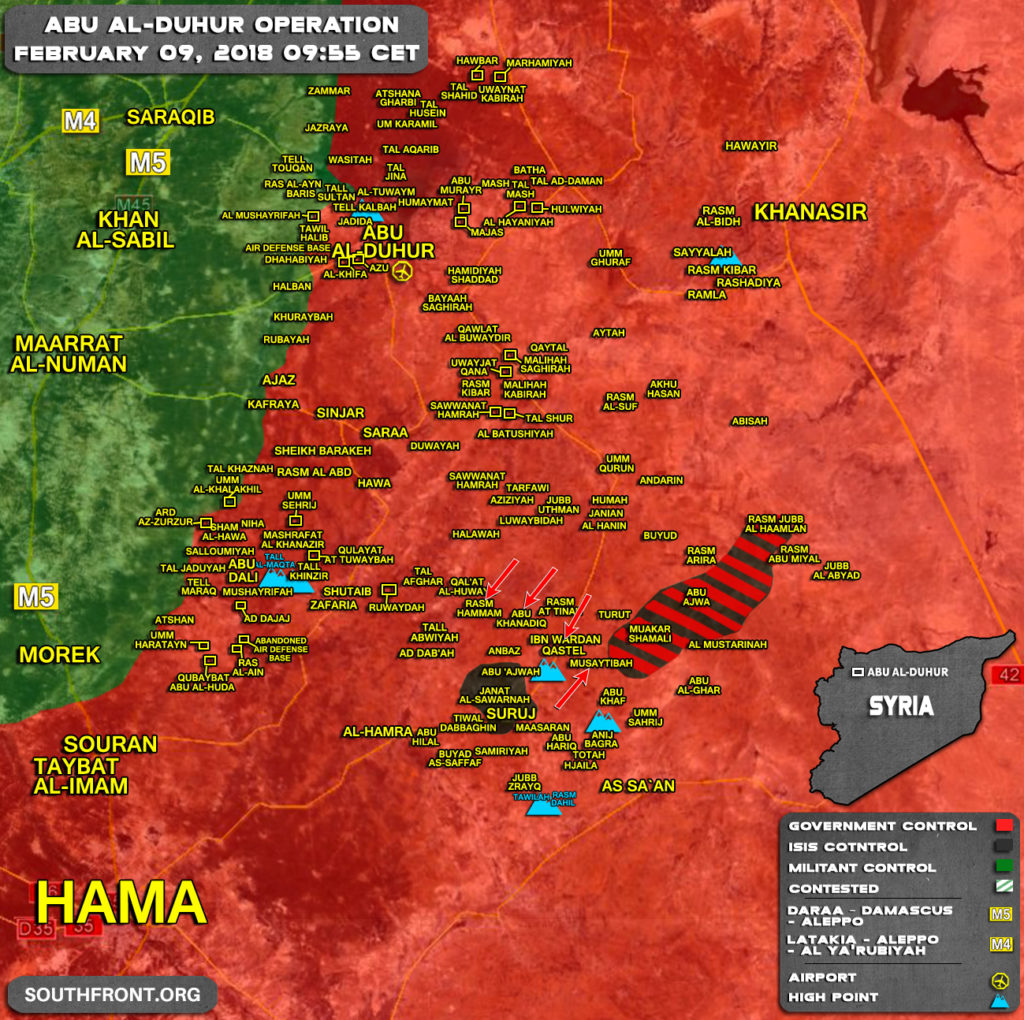 ISIS Defense Fully Collapsed In Northeastern Hama Pocket (Map)