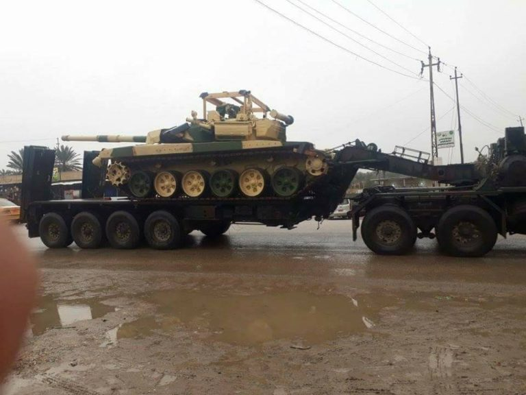 Iraqi Army Receives Fourth Batch Of T-90S Battle Tanks From Russia