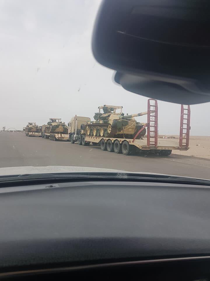 Iraqi Military Receives 36 T-90S Battle Tanks From Russia (Photos)
