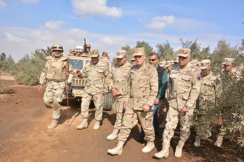 Over 1,200 Militants' Hideouts Destroyed In Anti-Terrorist Operation In Egypt's North Sinai