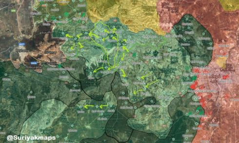 Syrian Liberation Front Captures Over 20 Locations From Hayat Tahrir al-Sham In Idlib Province (Maps)