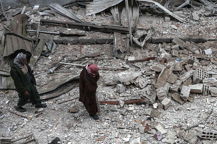 Militant Shelling Prevents Civilians From Leaving Eastern Ghouta Via Humanitarian Corridors - Russian Military