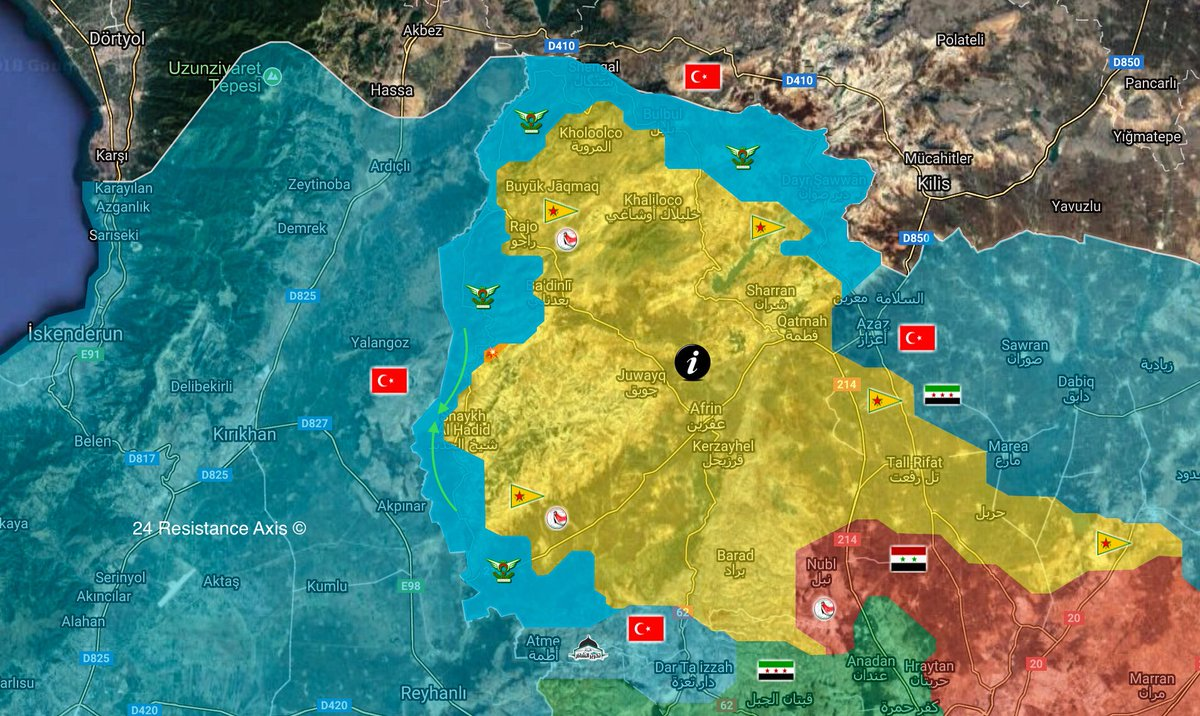 Terrorists Neutralized In Operation Olive Branch In Afrin Turkish