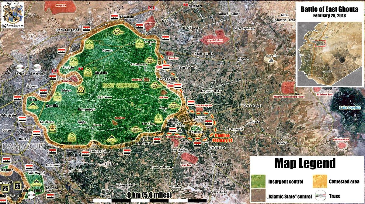 Syrian Army Imposes Control Over Hawsh al-Dawahirah, Advance North Of It (Video, Maps)