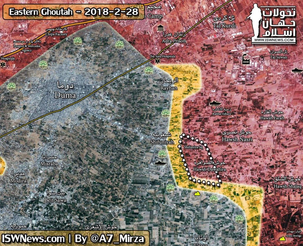 Syrian Army Imposes Control Over Hawsh al-Dawahirah, Advance North Of It (Video, Maps)