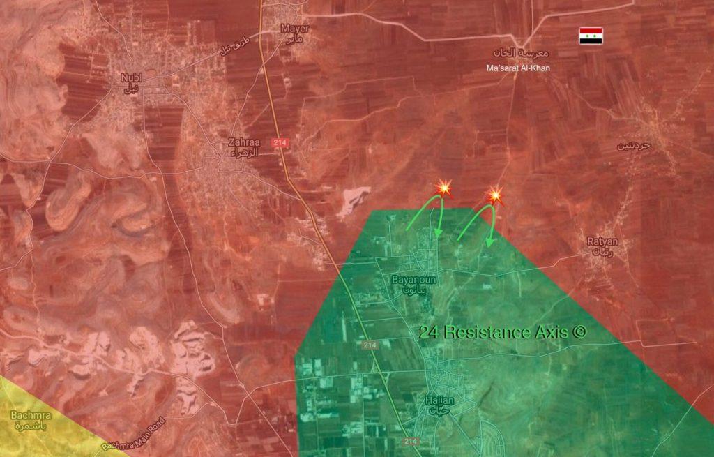 アレッポ北西部の政府軍、武装勢力を撃退