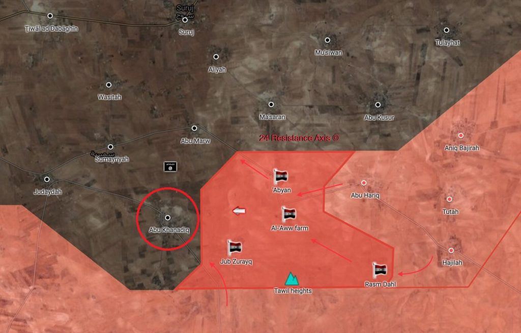 Syrian Army Liberated Abu Khanadiq From ISIS In Northestern Hama