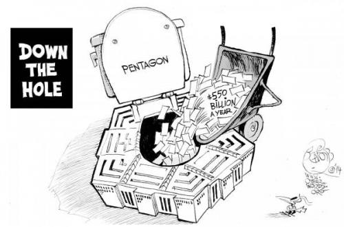 Pentagon Auditor Can't Account For $800 Million In Spending