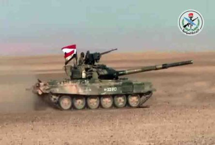 Syrian Army Forces ISIS To Retreat From 5 More Villages In Northeastern Hama