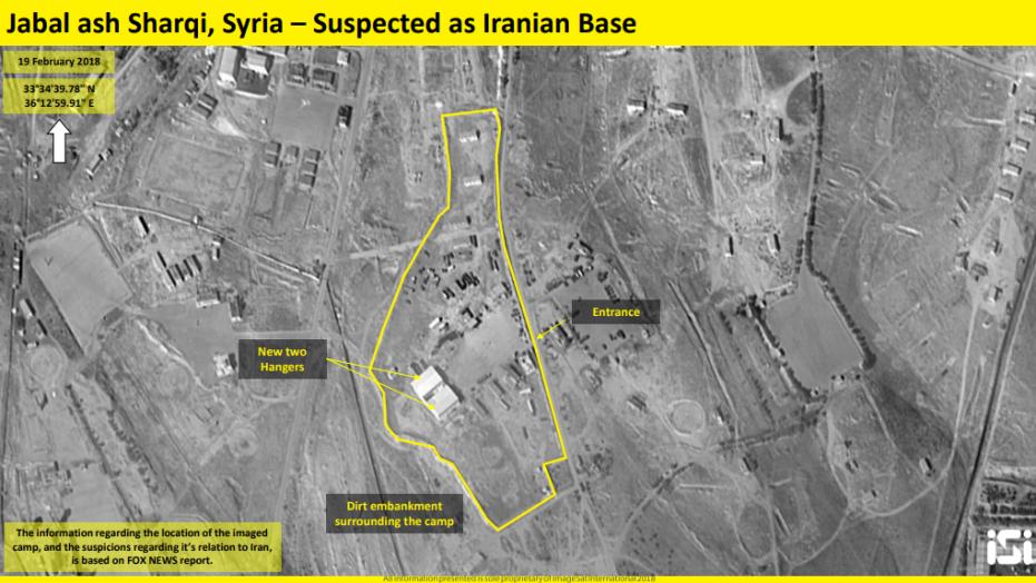 Satellite Photos Allegedly Show Iran Establishing New Base In Syria