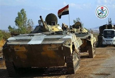 Syrian Army Captures Most Of ISIS-held Pocket In Northeast Hama