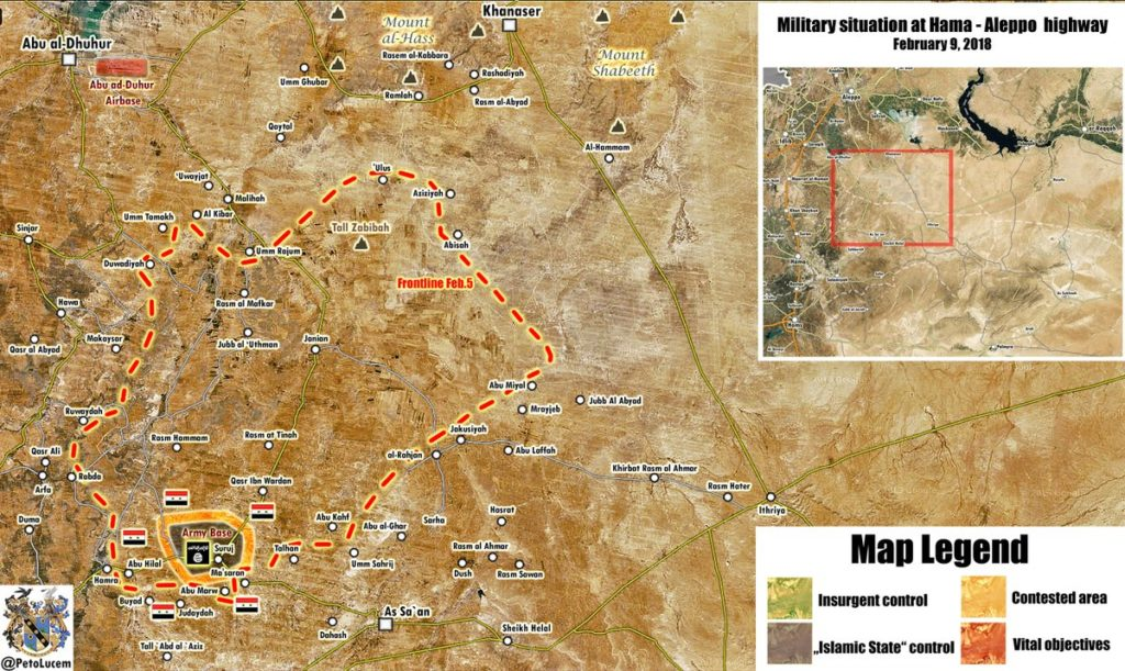 Map Update: Government Forces Eliminate ISIS Terrorists In Northeastern Hama