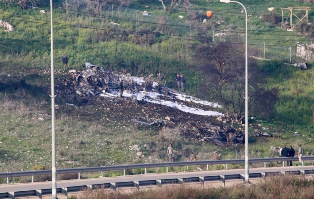 Syrian Air Defense Forces Shot Down Israeli Warplane, Israeli Responds With More Airstrikes