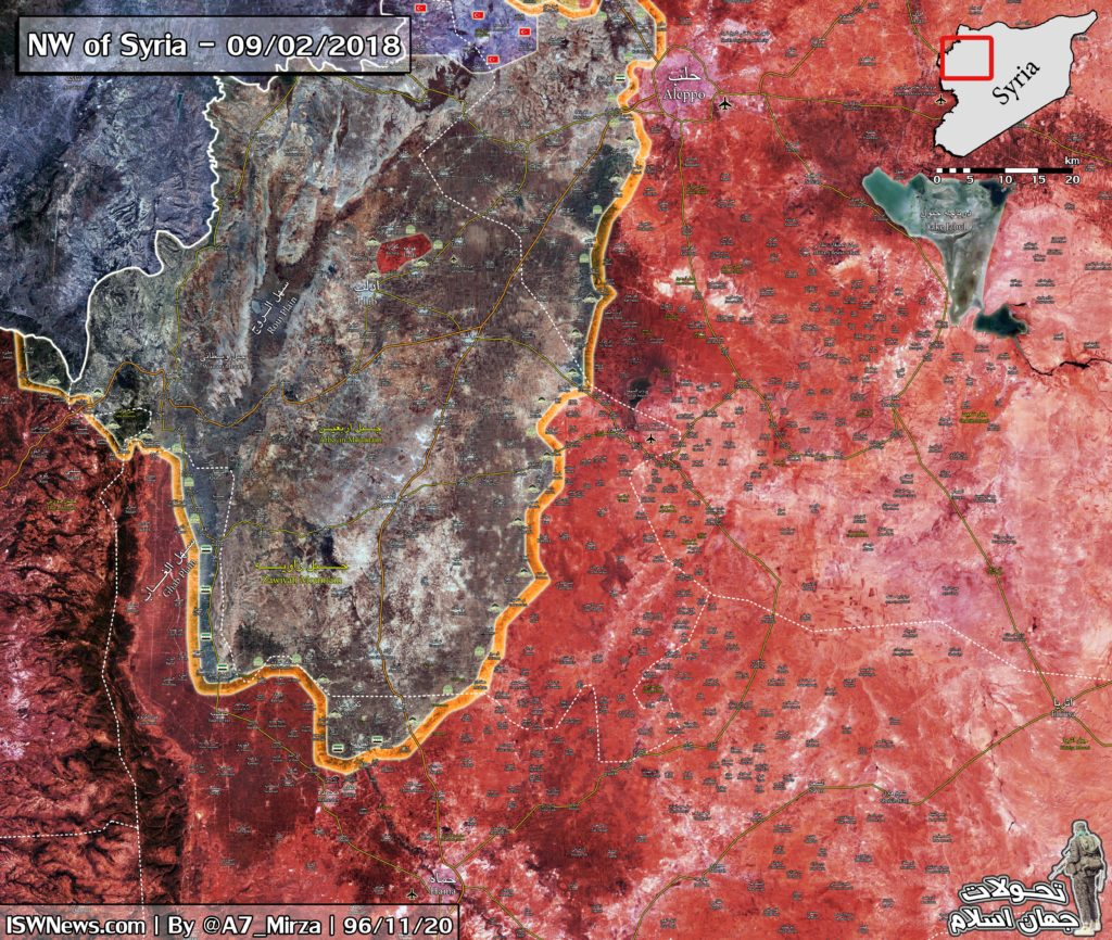 Government Forces Working To Secure Their Recent Gains In Eastern Idlib And Northeastern Hama (Maps)