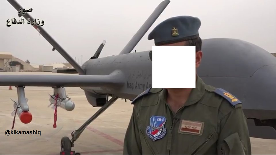 Chinese-made CH-4 Unmanned Combat Aerial Vehicles Operated By Iraqi Military (Video, Photos)
