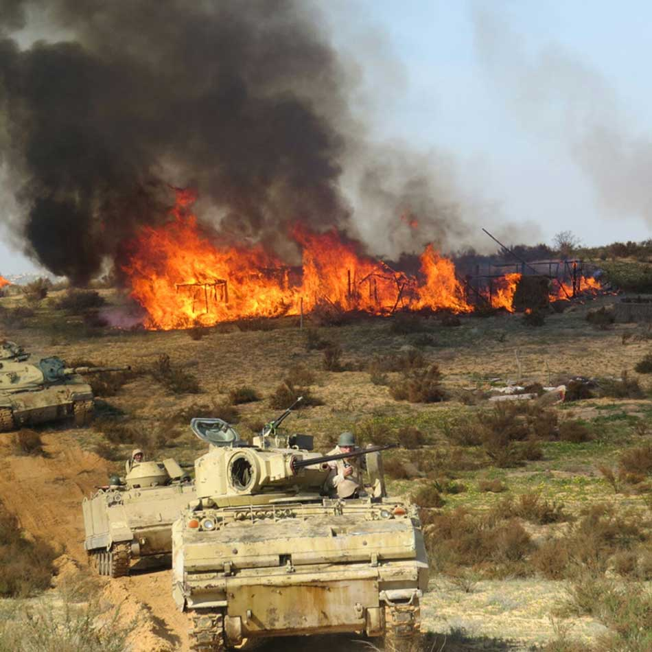 Egyptian Army Destroys Over 200 ISIS Hideouts (Video, Photos)