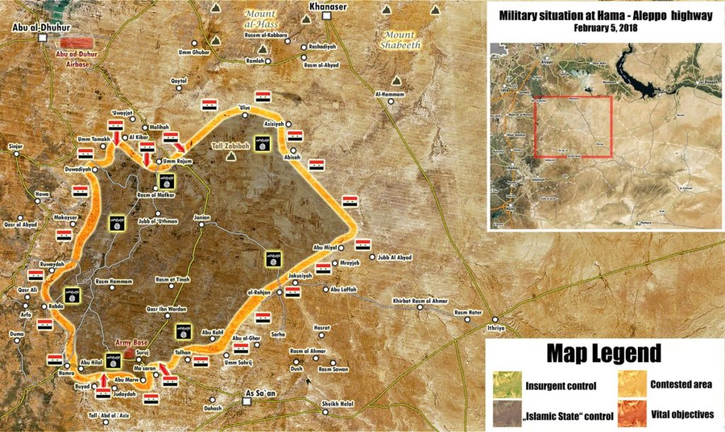 Syrian Army Liberates 4 Villages From ISIS In Northeastern Hama (Map)