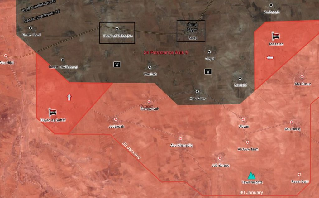 Tiger Forces Open New Front Against ISIS In Northeastern Hama Pocket, Liberate More Areas (Maps)