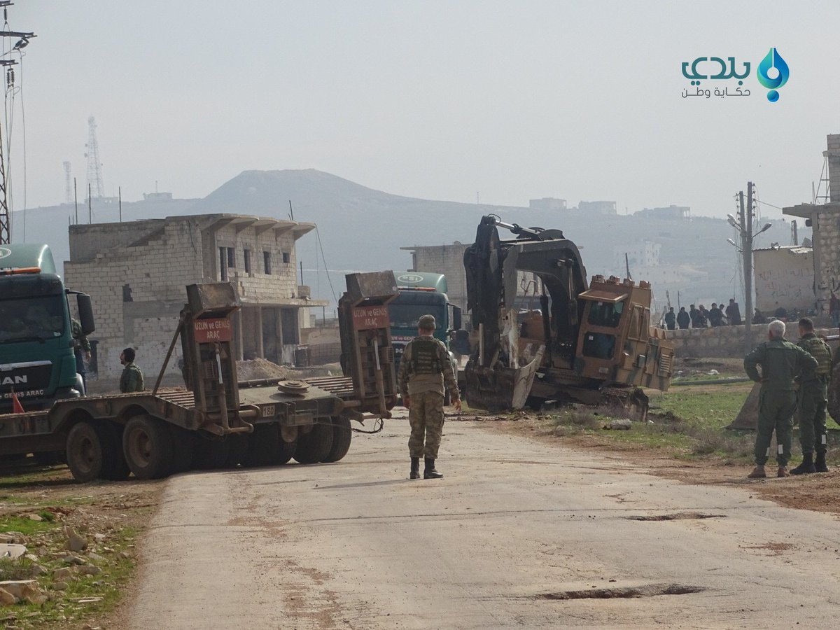 Turkish Forces Making Another Attempt To Establish 'Observation Point' In Al-Eis In Southern Aleppo