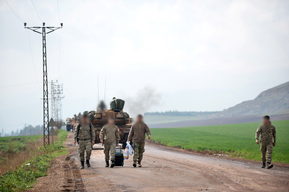 Turkish Forces Capture Another Village North Of Afrin, Mass Reinforcements West Of It (Photos)