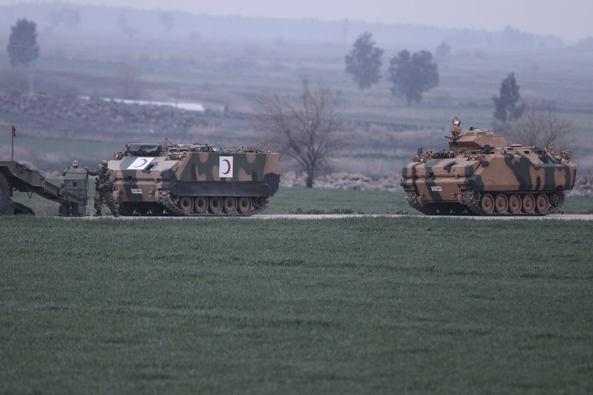 Kurdish Forces Claim 13 Turkish Soldiers Killed In Their Hit And Run Attacks In Northern Afrin