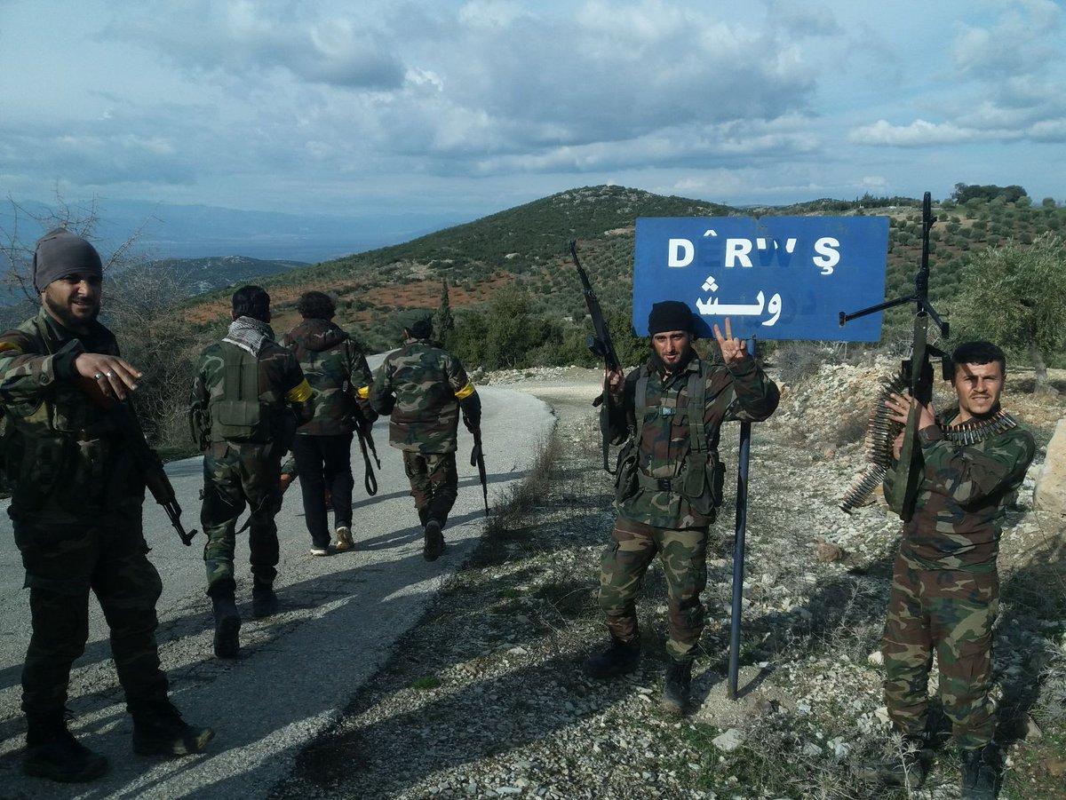 Turkish Forces Advance In Northwestern Afrin, Capture Three Villages (Map, Photos)