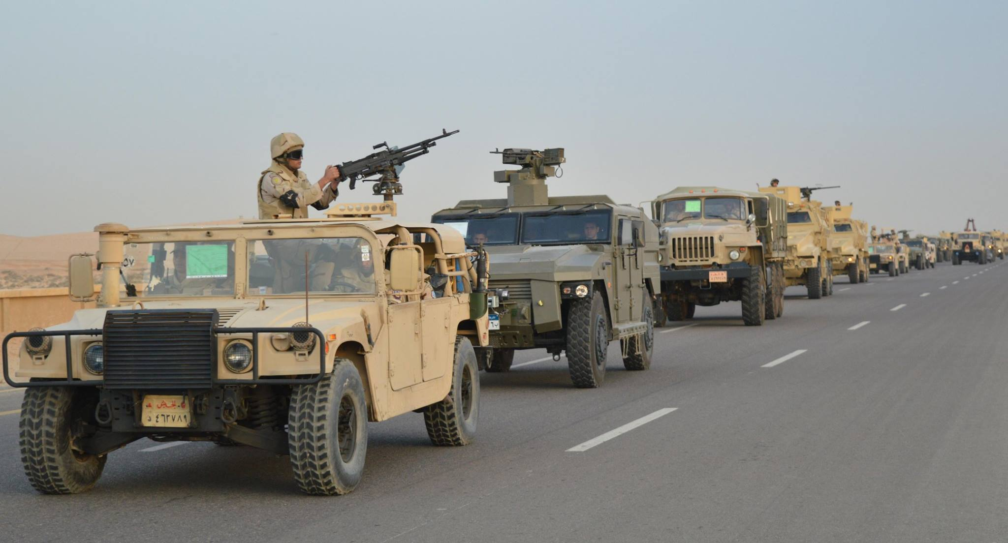 Egyptian Army Develops Military Operation Against ISIS In Sinai, Destroy Dozens Of Militant Positions (Photos, Video)