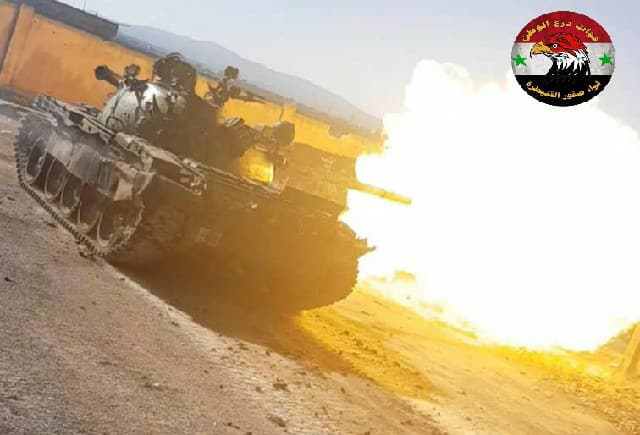 Army Troops Repel Attack By Hay'at Tahrir al-Sham And Its Allies In Southern Syria (Video, Photos)