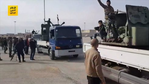 Syrian Government Forces Started Entering Afrin (Videos)