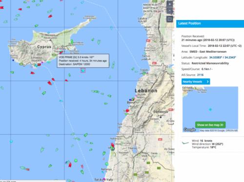 Turkish Warships Block Cypriot Drilling Rig In Dispute Over Mediterranean Gas Field