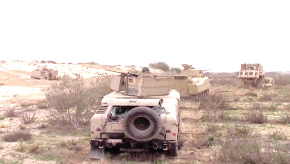 Egyptian Army Destroys Hundreds Of ISIS Hideouts In Sinai Peninsula (Video, Photos)