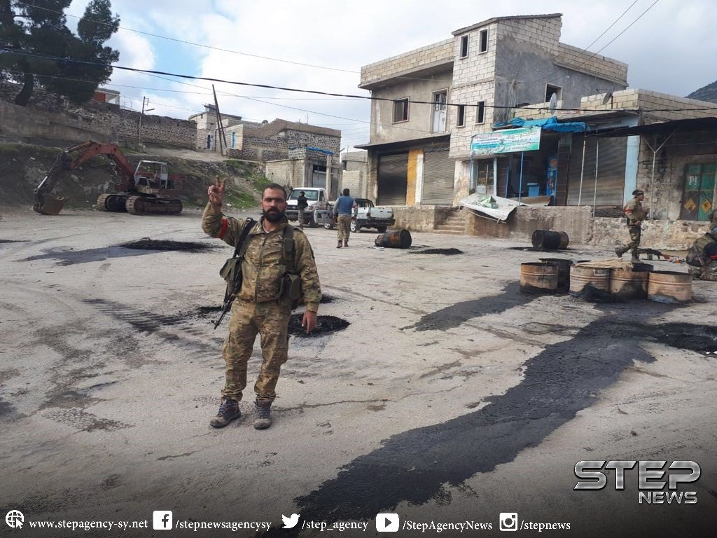 Turkish Army Captures Key Town From Kurdish Forces North Of Afrin (Photos, Map)