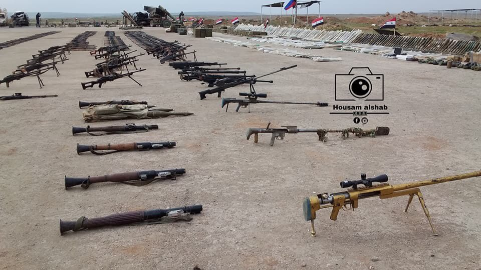 Tiger Forces Eliminate Large Group Of ISIS Terrorists, Capture Lots Of Weapons In Southeastern Idlib (Photos)