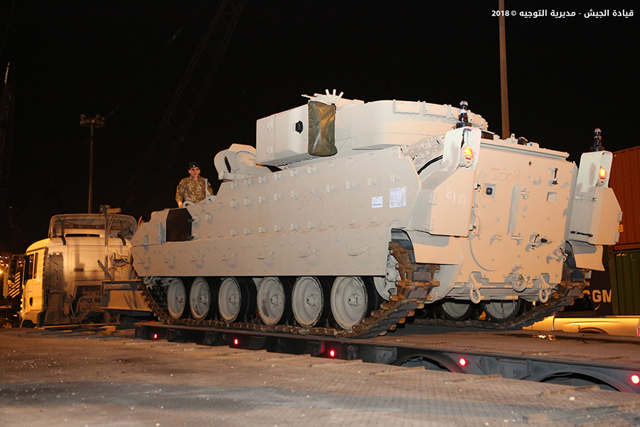 Lebanese Army Receives More Infantry Fighting Vehicles From United States (Photos)