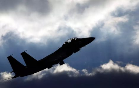 Israeli Air Force Strikes Gaza Strip In Response To Rocket Shelling