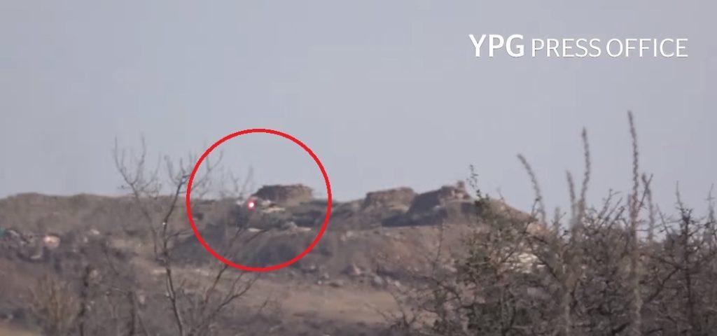 YPG Destroys Turkish Battle Tank With ATGM In Bulbil Distrcit In Syria's Afrin (Video)