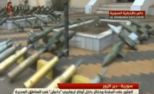 Government Forces Captured Large Number Of Weapons, Some Israeli-made, In Liberated Areas Of Deir Ezzor (Video)