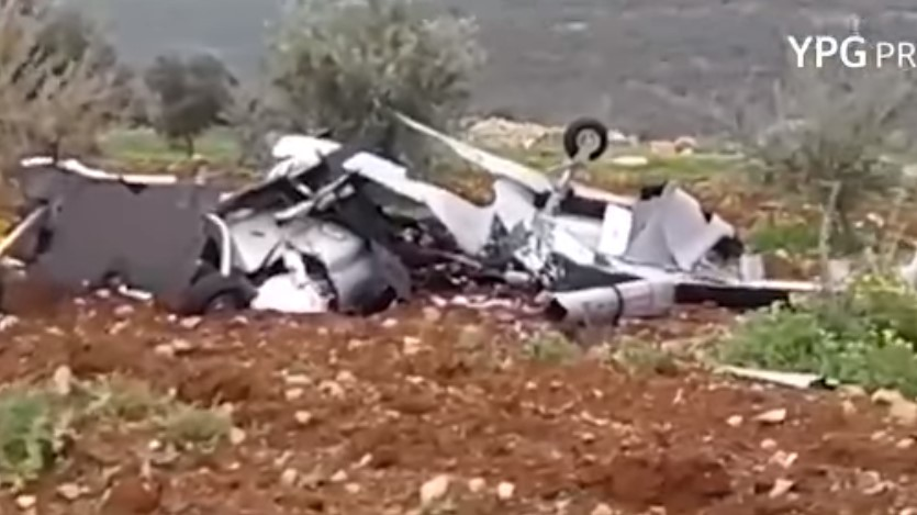 YPG Shot Down Alleged Turkish Unmanned Aerial Combat Vehicle (Video)