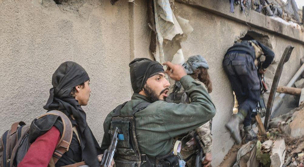 Hay'at Tahrir al-Sham And Faylaq al-Rahman Claim They Repel Syrian Army Attack In Eastern Damascus